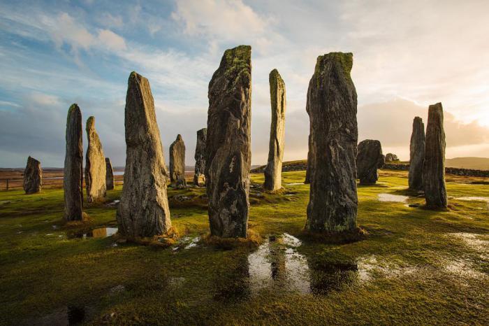 Древние каменные круги