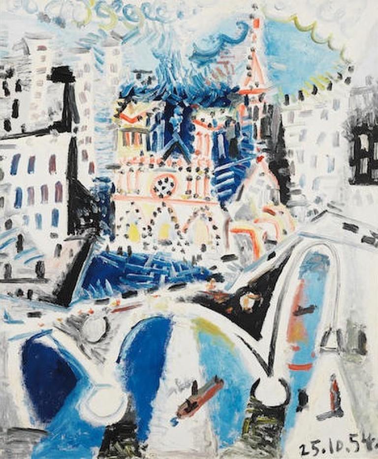 Нотр-Дам глазами Пикассо, Жана Фуке и Анри Матисса: как средневековый собор на протяжении веков очаровывал художников