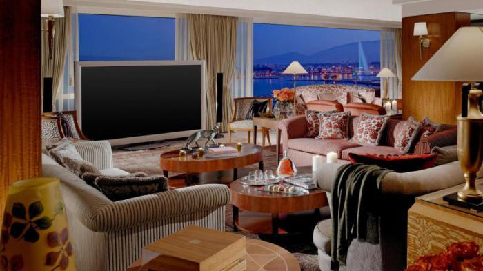 рейтинг дорогих гостиниц