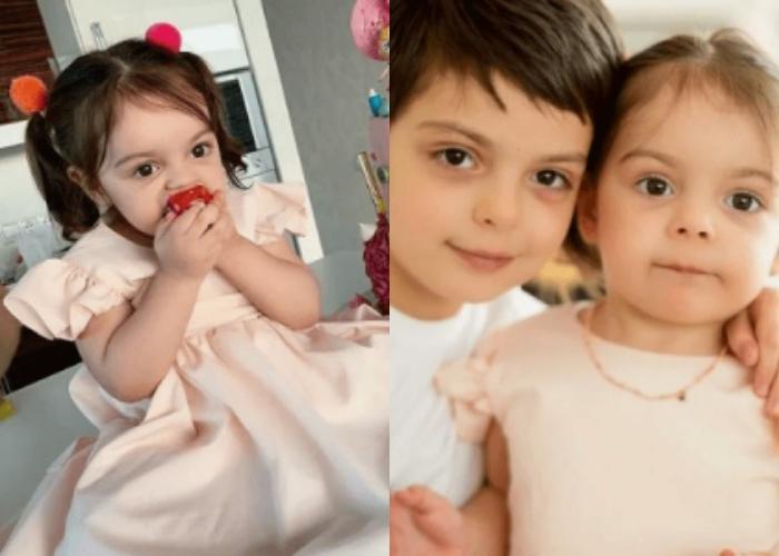 Дочь Анастасии Стоцкой растет копией своего маленького брата (фото)