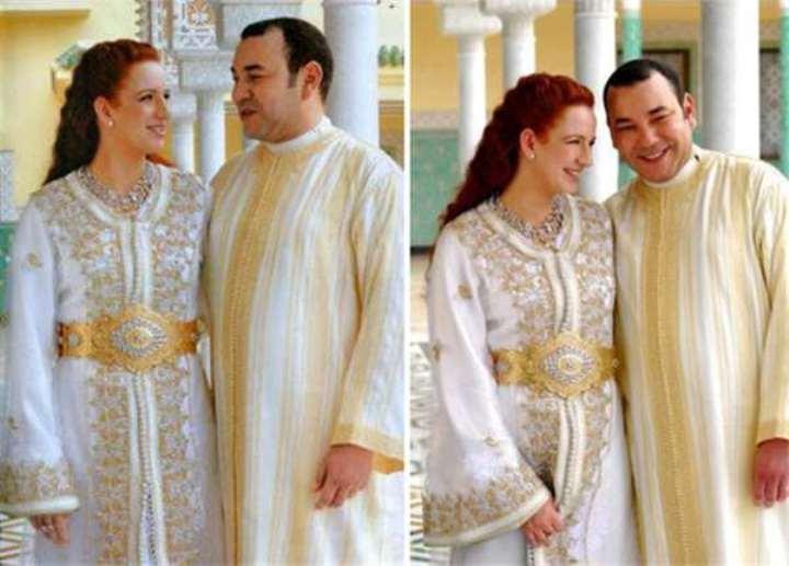 Марокканский король нарушил все мыслимые и немыслимые традиции ради свадьбы с простолюдинкой