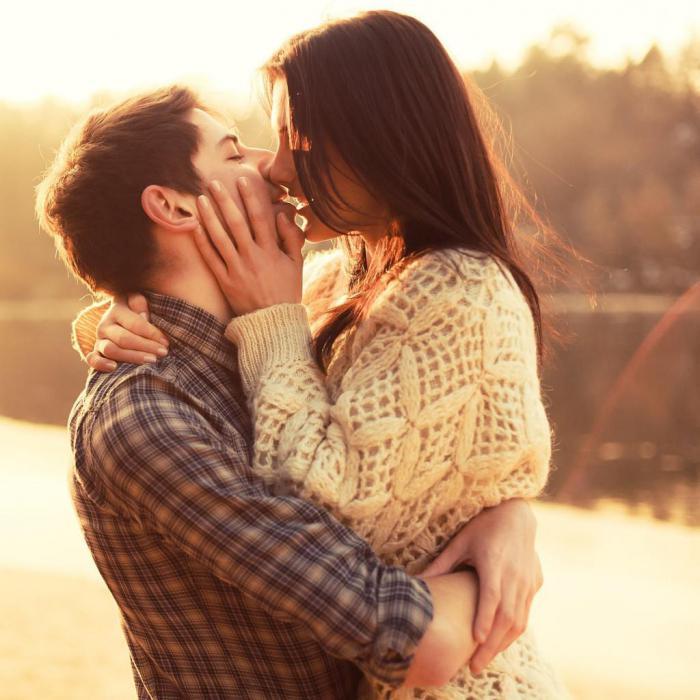 поцелуй отношения любовь