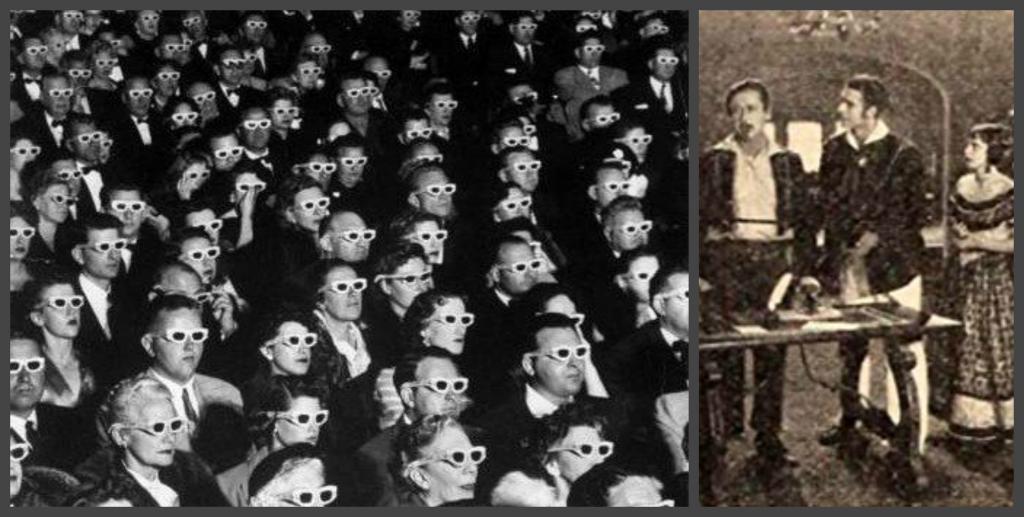 Первый в мире трехмерный фильм был показан в 1922 году