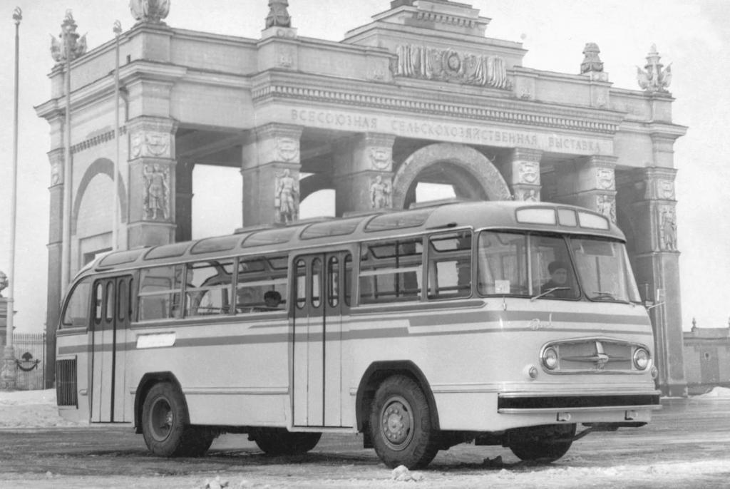 Красивейшие автобусы, созданные в СССР