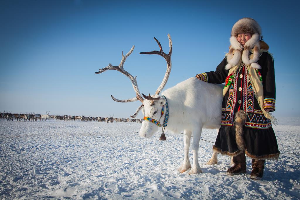 Картинки человека на севере