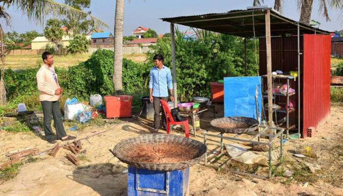камбоджийский деликатес