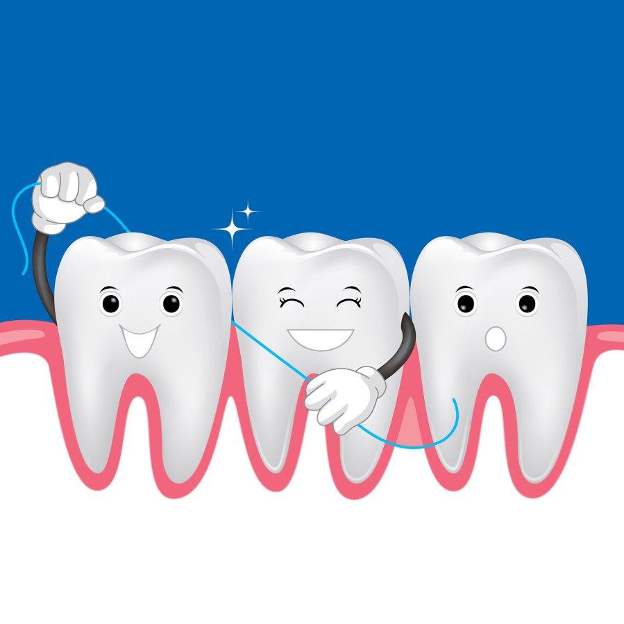 Зуб за зуб картинка для детей