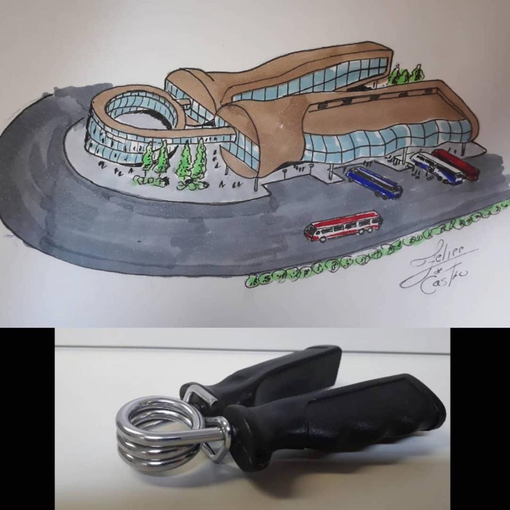 Искусство на бумаге: художник превращает предметы быта в необычные здания