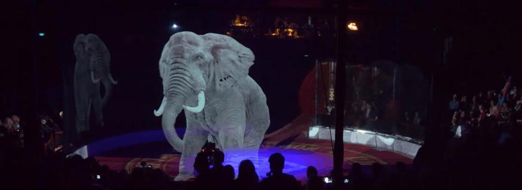 Цирк нашел красивое решение проблемы эксплуатации животных. Вместо них выступали голограммы