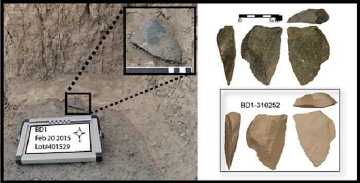 В Африке археологи обнаружили набор самых древних режущих инструментов в мире: их возраст - 2,6 млн лет