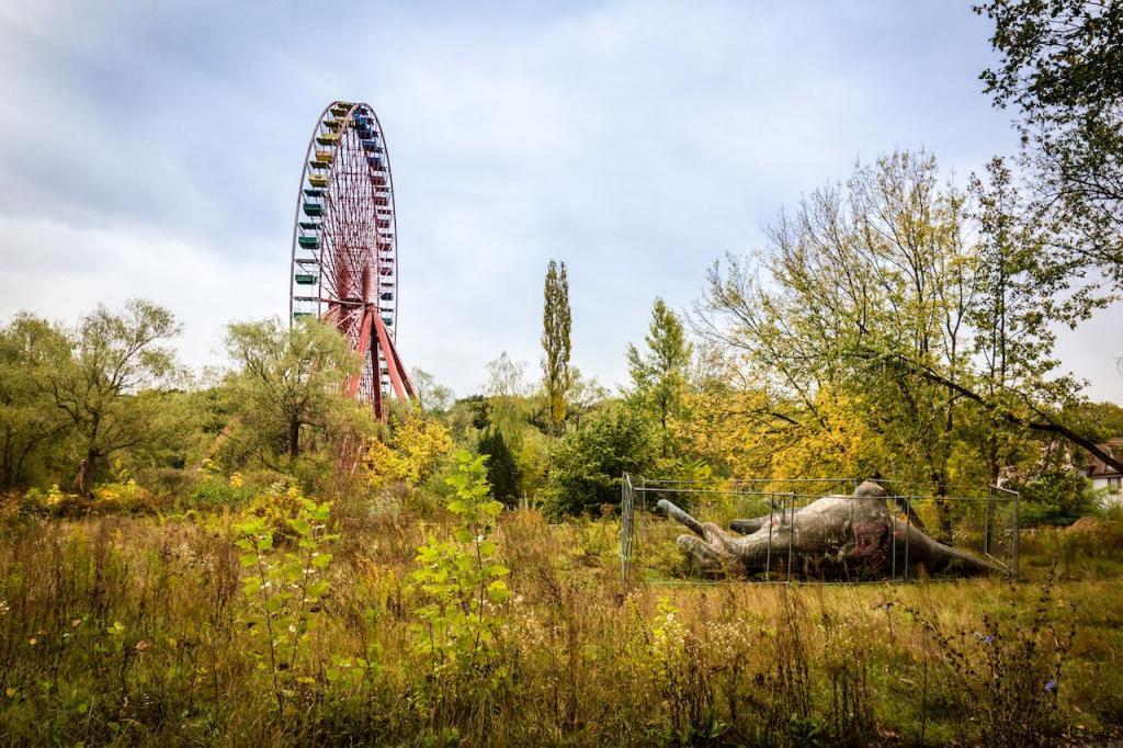 Летнее время - сезон путешествий. Необычные зеленые районы Берлина, открытые для посещений
