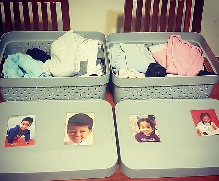 Мать четверых детей придумала простой трюк, который помогает ее детям быстро одеваться по утрам. Стоимость - 5 долларов