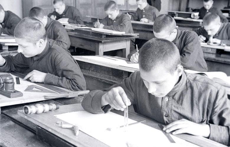 форма учащихся пту ссср фото они разделили между