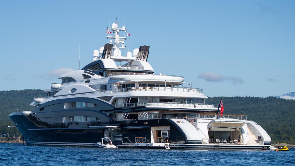 Самая дорогая картина в мире находится на яхте саудовского принца