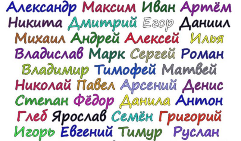 Немецкие журналисты назвали самые приятные для слуха российские имена