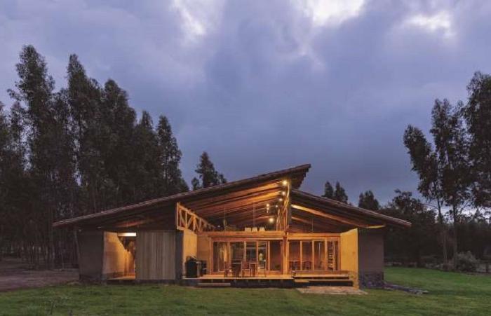 Дома мечты, которые на самом деле сделаны из земли (фото)