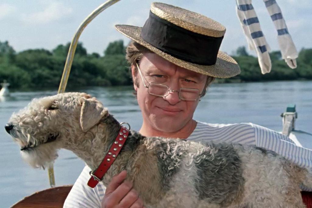 """Интересные случаи, происходившие на съемках """"Трое в лодке, не считая собаки"""""""