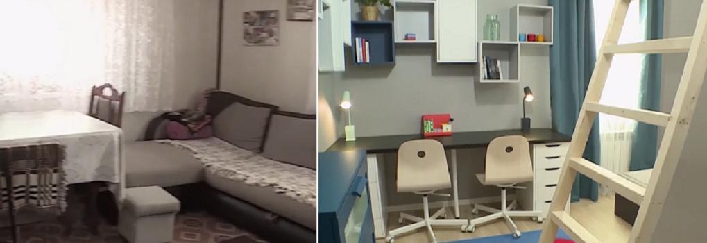 Вдовцу, воспитывающему троих детей, помогли отремонтировать дом, который находился в плачевном состоянии