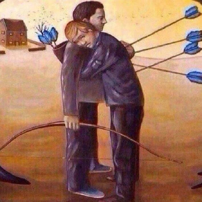 Мужской мир и ложные приоритеты: пронзительные иллюстрации, показывающие суровую реальность нашего мира
