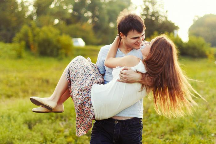 мужчина женщина влюбленность