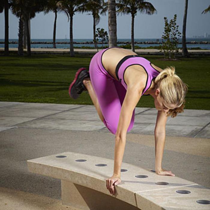 8 упражнений на открытом воздухе, которыми можно поменять занятия…