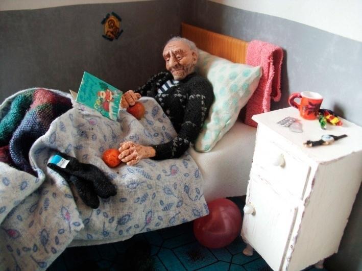 """""""Дорогие мои старики"""": уникальная коллекция """"пожилых"""" кукол, созданная человеком с большим сердцем"""