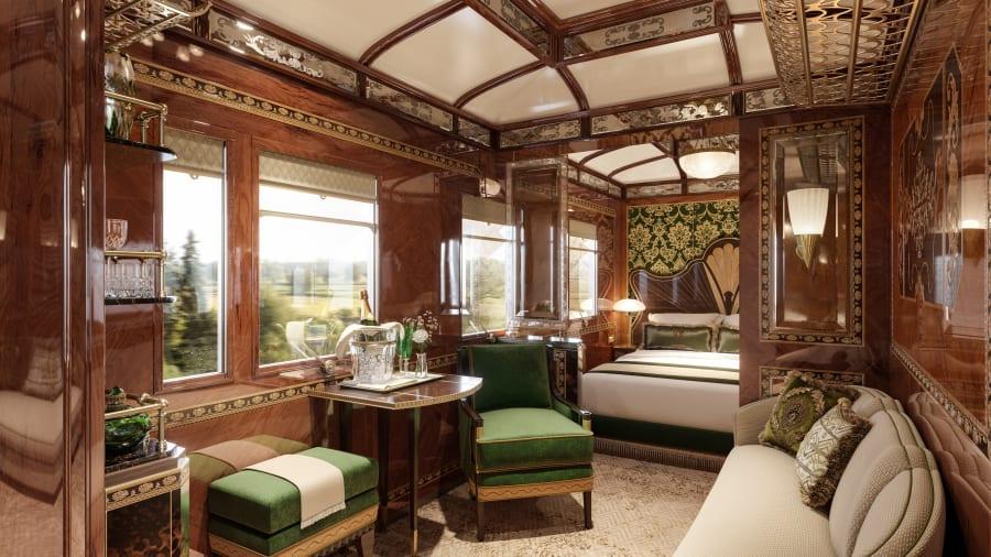 С 2020 года культовый Venice Simplon-Orient-Express сможет похвастаться тремя шикарными новыми гранд люксами, которые являются воплощением вечного гламура