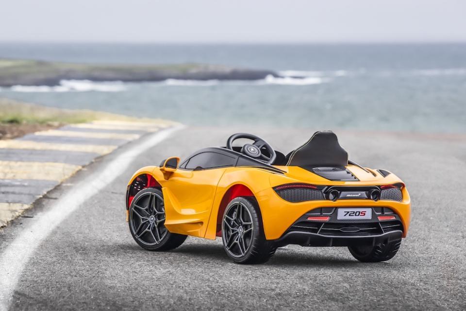 McLaren начнет выпуск чудо-автомобилей с электроподзарядкой: и предназначены они будут для малышей