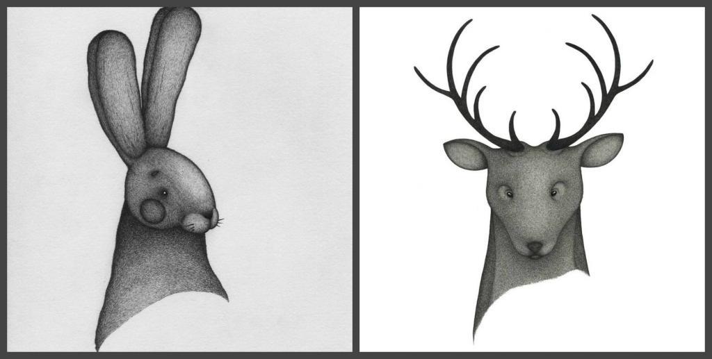 Вдохновившись творчеством своих племянниц, мужчина создает оригинальные иллюстрации с помощью простой шариковой ручки