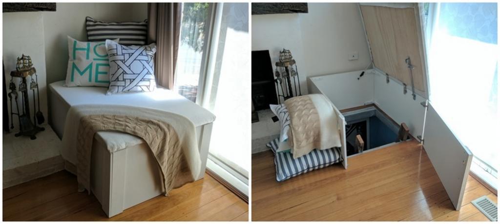 10 идей для потайной комнаты: она сделает дом идеальным