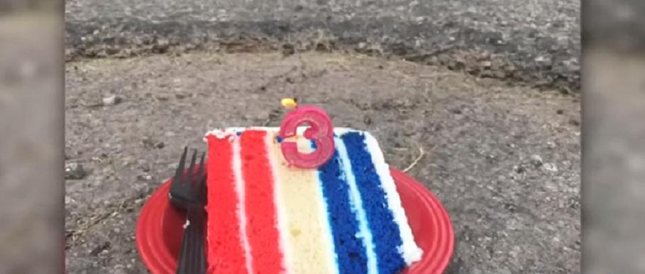 У вас перед домом плохие дороги? Берите пример с мужчины, который решил проблему с помощью куска торта