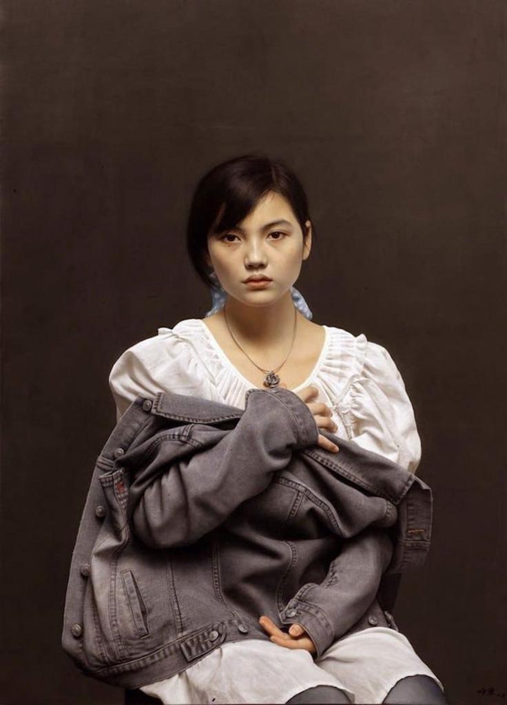 Стирая границы между живописью и фотографией. Реалистичные портреты японского художника