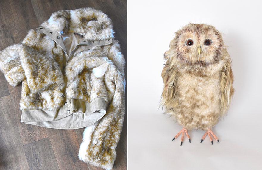 Волшебство переработки. Мастер из Англии создает реалистичные меховые игрушки из вещей, предназначенных для утилизации