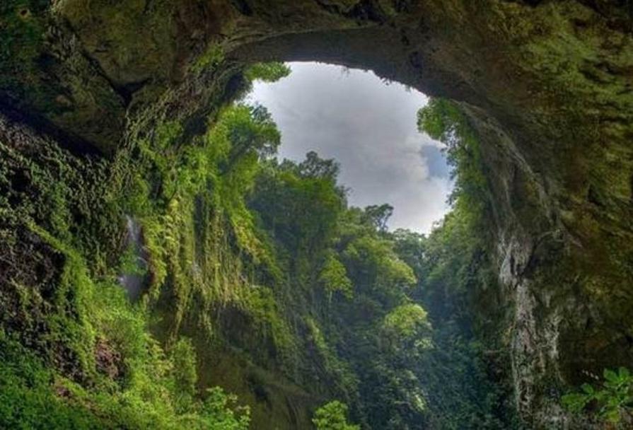 Фермер, заметивший дыру в горе, случайно открыл самую большую в мире пещеру