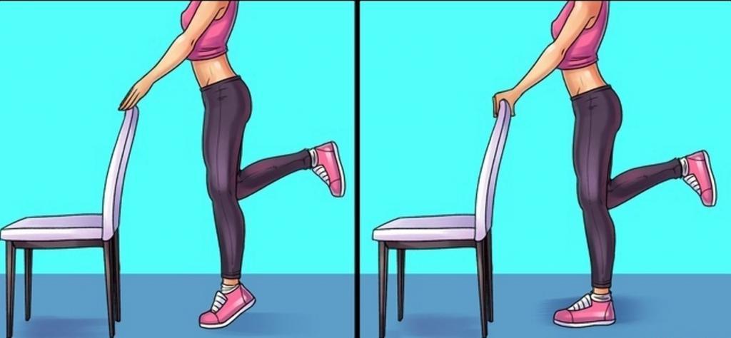 Комплекс упражнений от боли в бедрах, коленях и стопах для летящий походки