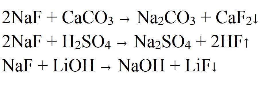 Sodium Fluoride Properties