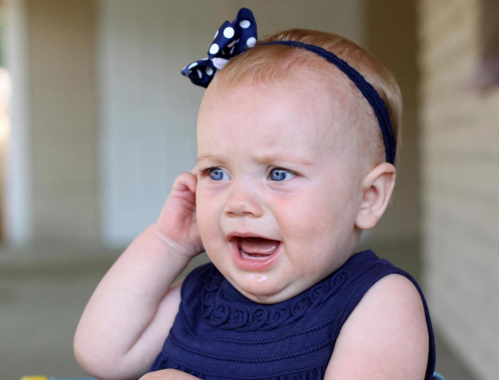 мокнущая рана за ухом у ребенка