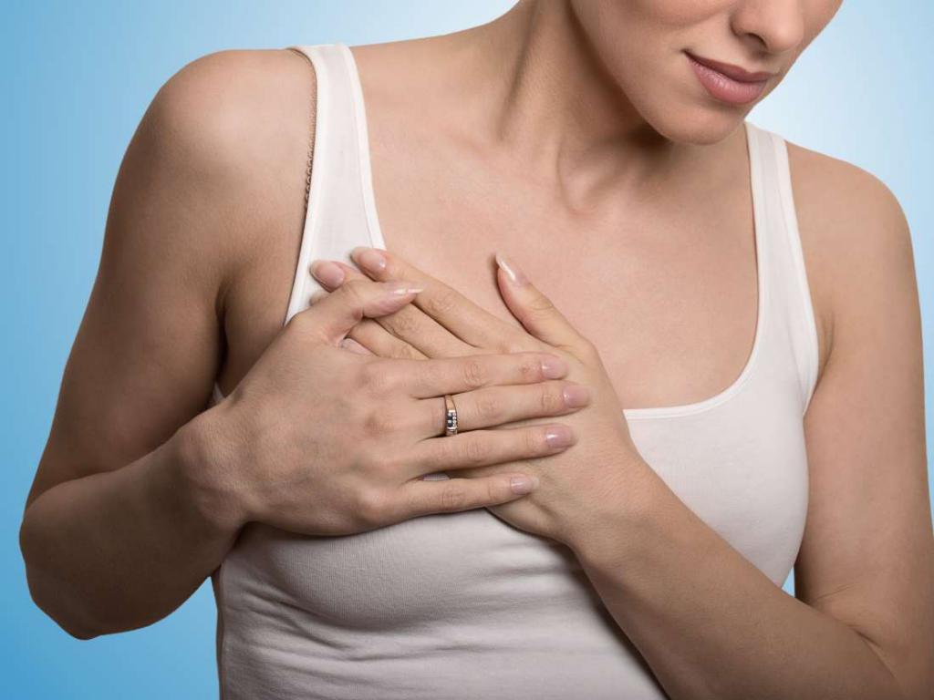 образования на коже груди