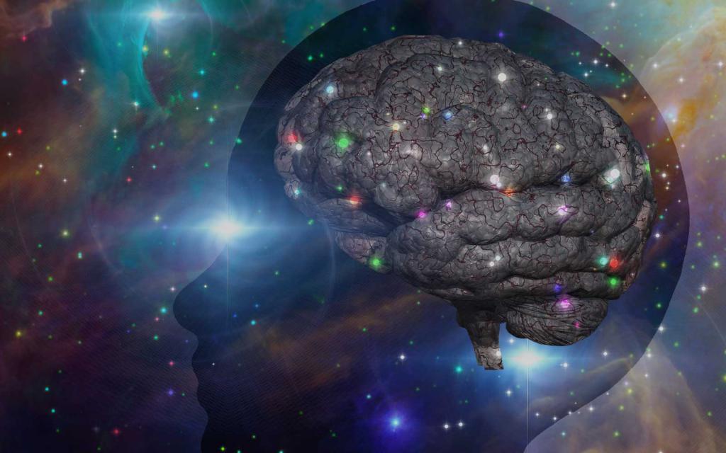 Мозг и вселенная картинка