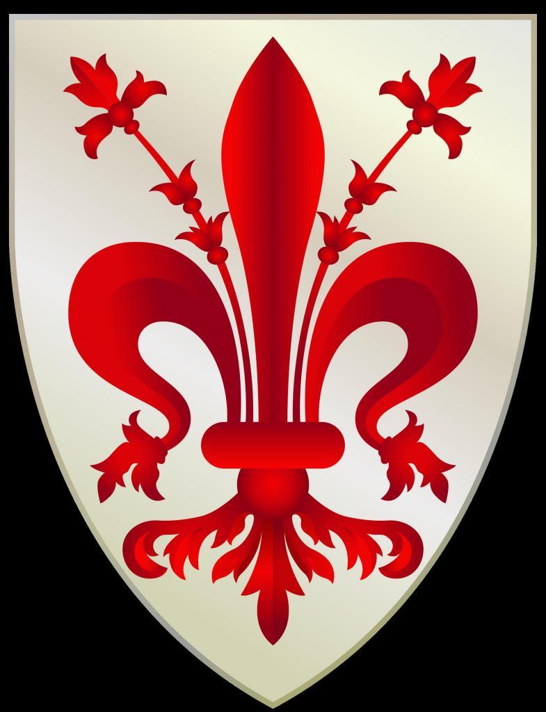 Герб Флоренции: описание, значение и фото