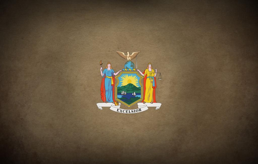 флаг штата Нью-Йорк