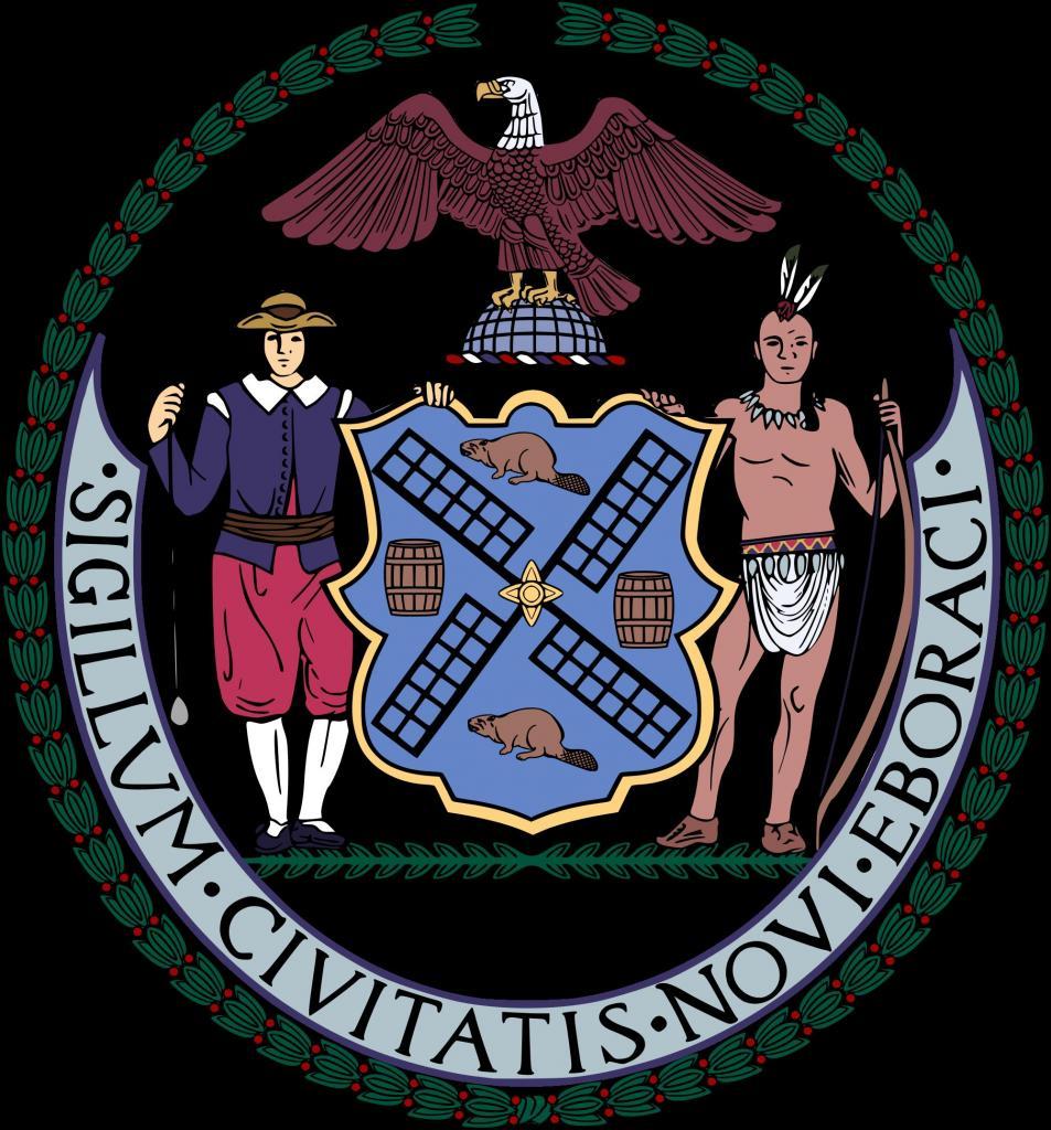 герб города Нью-Йорка