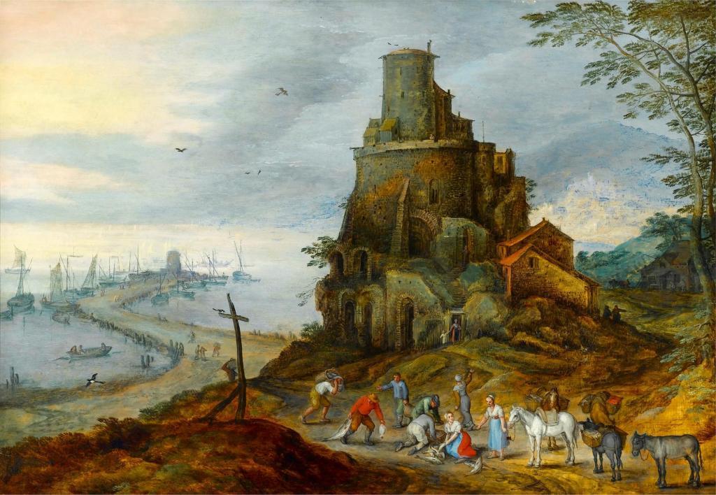 Ян Брейгель Младший: биография, картины