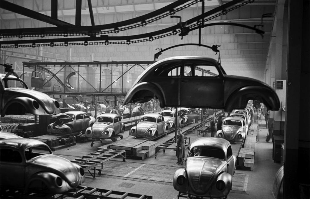 """production of cars """"Volkswagen"""""""
