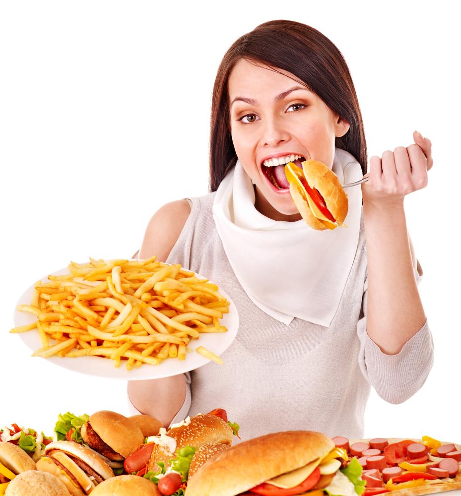 половина картинки человек ест чтобы передалась
