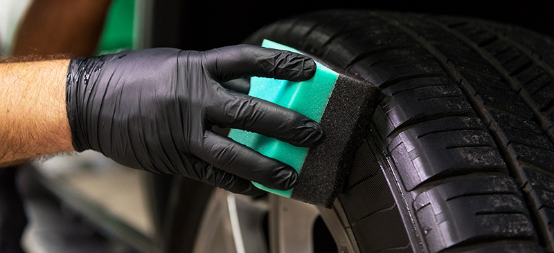 как сделать чернитель резины своими руками