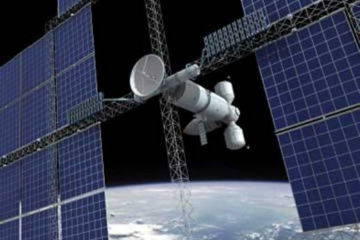 Спутник Solar Power Satellite