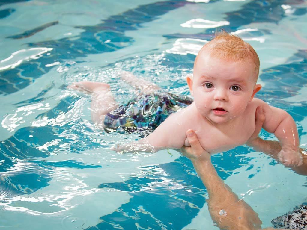 Плавание для малышей