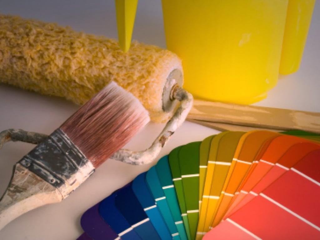 Подготовка к окраске