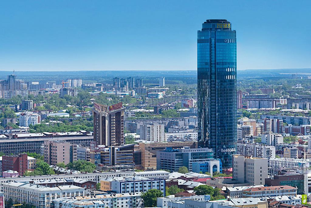 """skyscraper """"Vysotsky"""""""